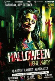 Halloween party – Free Flyer PSD Template