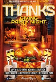Thanksgiving Picnic Flyer