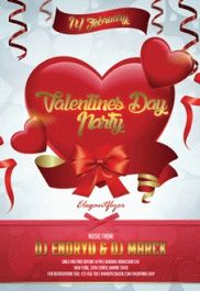 Poster for Valentines Day Party