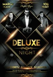 Deluxe – Premium Club flyer PSD Template