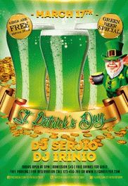 Flyer for St. Patrick's Day Vol.3