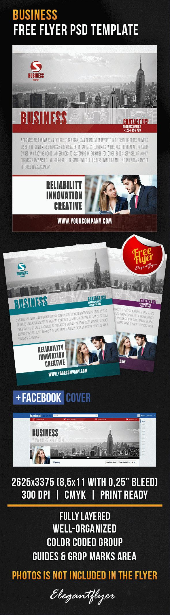 Free Flyer Template To Business