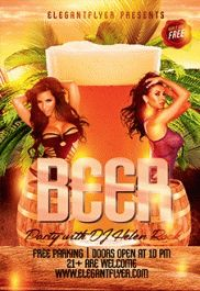 Beer Championship – Flyer PSD Template + Facebook Cover