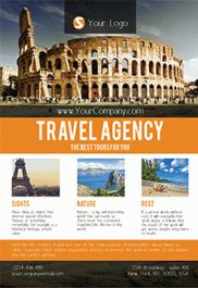 Travel Design V02 – Free Flyer PSD Template + Facebook Cover