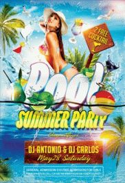 Party For Summer Pool