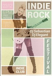 Flyer for Rock Music Festival