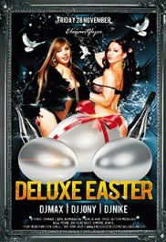Deluxe Easter – PSD Flyer Templates