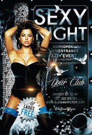 Party Club- Flyer PSD Template