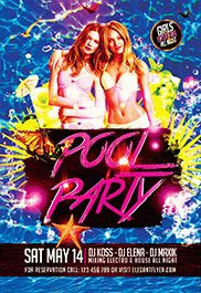 Exotic Pink Party – Premium Flyer PSD Template