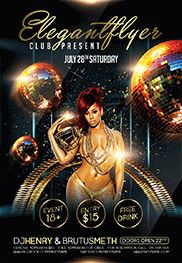 Club Flyer – Flyer PSD Template