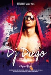 Special Guest DJ 3 – Flyer PSD Template + Facebook Cover