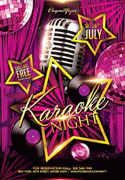 Smallpreview_Karaoke_Night-flyer-psd-template-facebook-cover