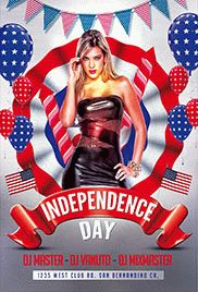 Independence Day – Flyer PSD Template