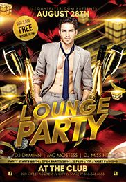 Lounge Party Template