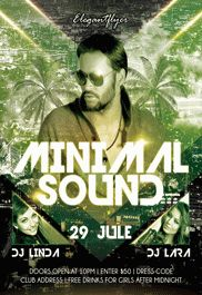 Summer Sound Festival – Flyer PSD Template