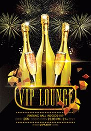 Vip Lounge – Flyer PSD Template