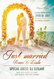 Flyer for Perfect Bliss Wedding Event