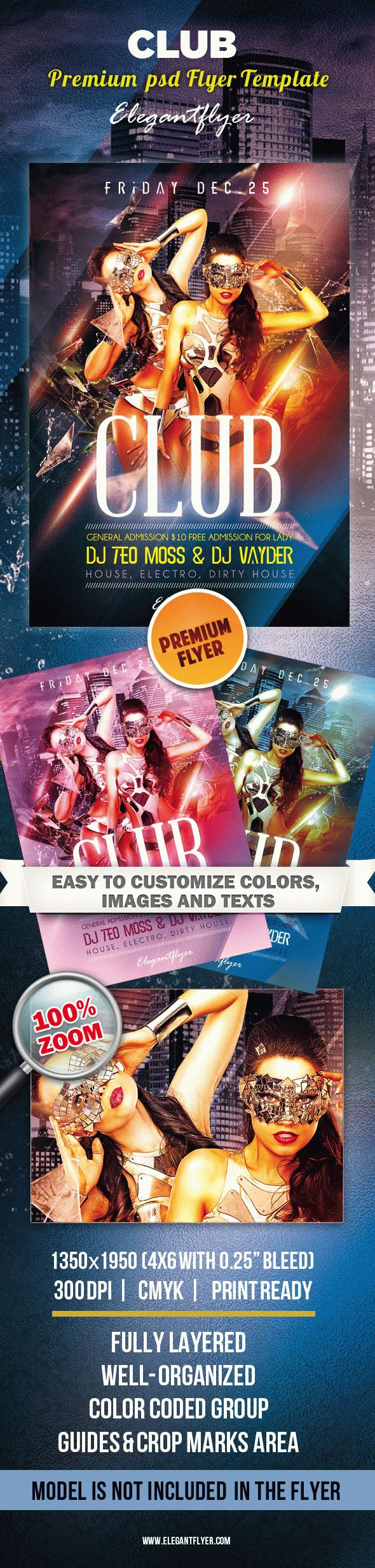 Club – Premium Flyer Template
