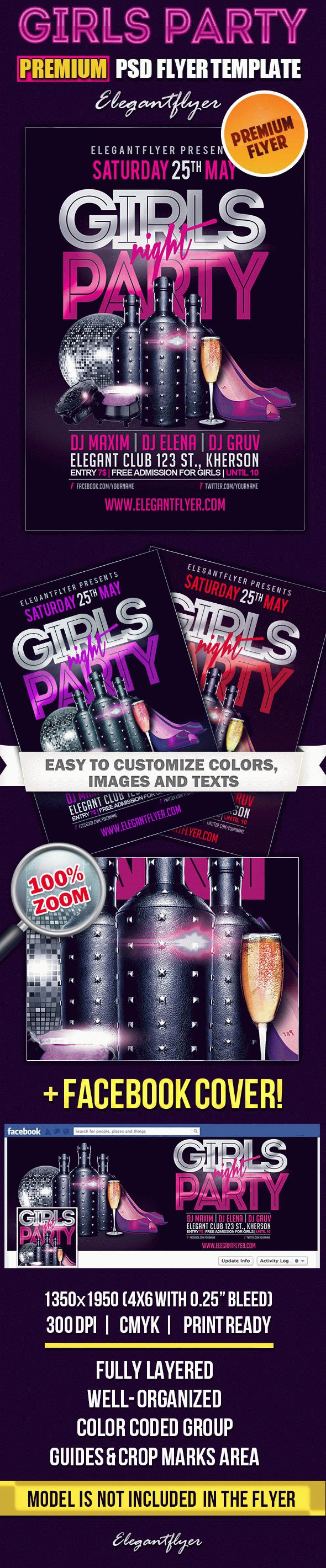 Poster for Girls Night Party