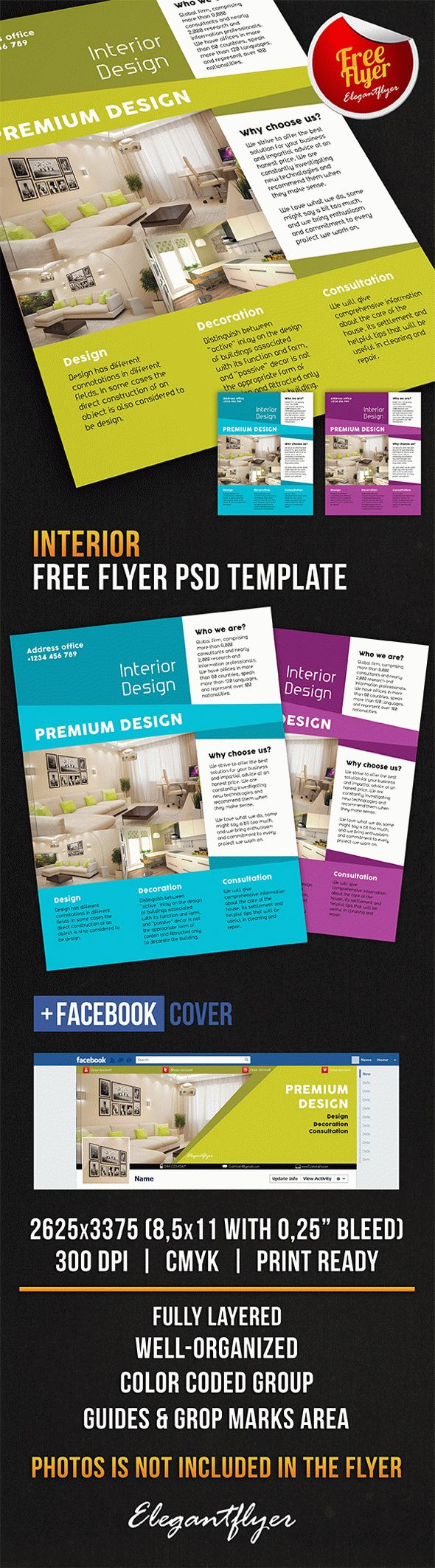 interior free flyer psd template facebook cover 1500 free psd flyer templates. Black Bedroom Furniture Sets. Home Design Ideas