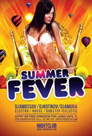 Summer Break Party – Flyer PSD Template + Facebook Cover