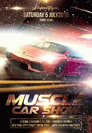 Nitro Tuning Show – Flyer PSD Template + Facebook Cover