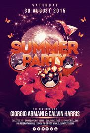 Western Party – Flyer PSD Template