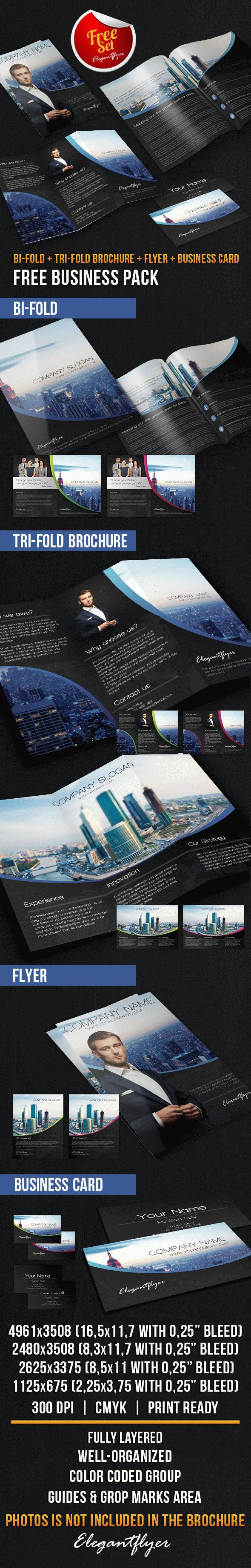 Business Brochure Pack – Free PSD Template