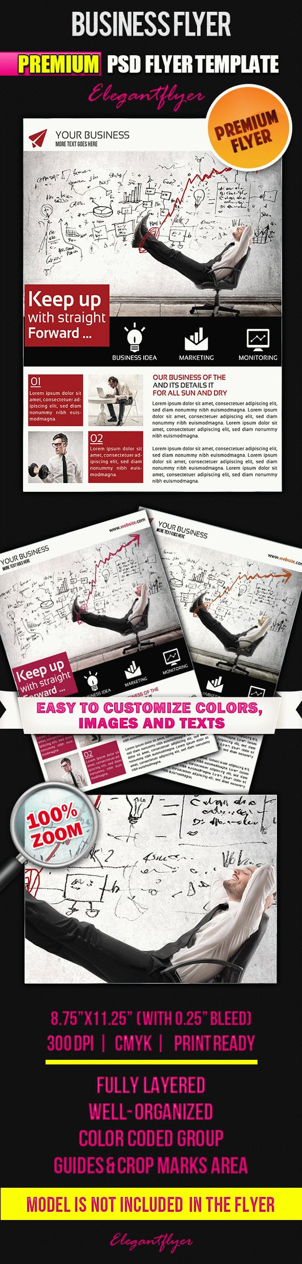 Business Flyer – Flyer PSD Template