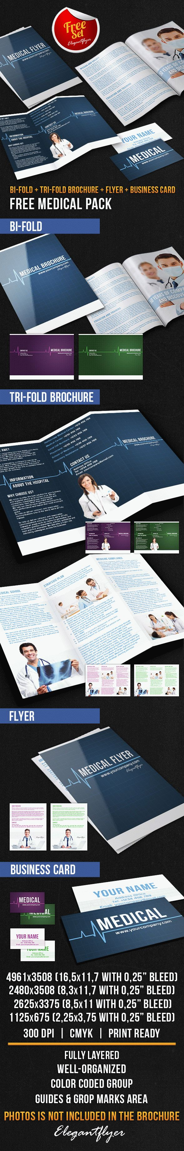 Medical Brochure Pack – Free PSD Template