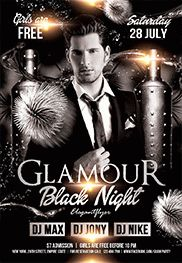 Smallpreview_GlamourBlack_Night-flyer-psd-template-facebook-cover
