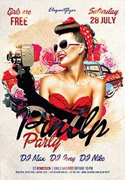 Smallpreview_Pin_Up_Party-flyer-psd-template-facebook-cover