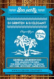 Smallpreview_Sea_party_2-flyer-psd-template-facebook-cover