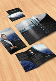 Free Pack Template for Business Brochure