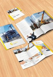 House Cleaning Brochure Pack – Free PSD Template