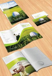 Golf tournament – Flyer PSD Template