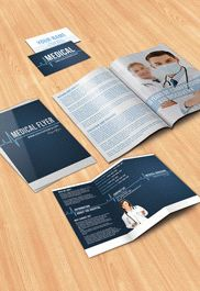 Pregnancy Clinic – Flyer PSD Template + Facebook Cover