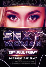 Pleasure Nights – Flyer PSD Template + Facebook Cover