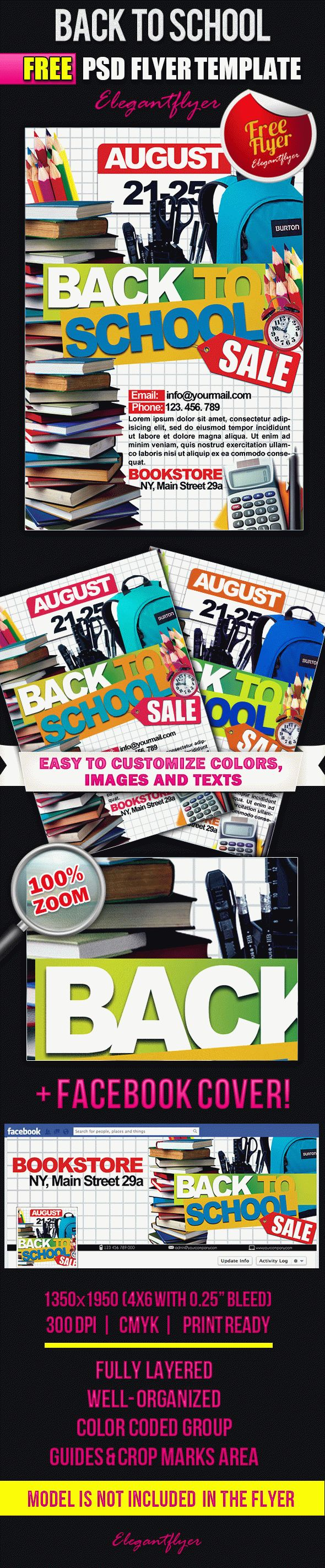 Psd Back To School Sale Template By Elegantflyer