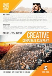 Corporate Strategy – Tri-Fold Brochure PSD Template