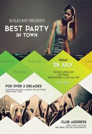 College Pop – Flyer PSD Template
