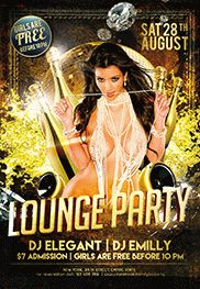 Party Lounge Flyer