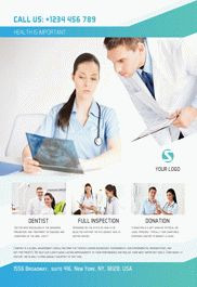 Medical Clinic – Flyer PSD Template