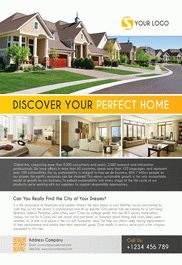 Realtor – Flyer PSD Template