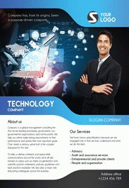 Flyer for Corporate Flyer Design