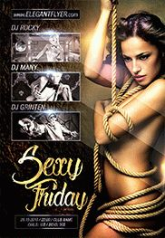 Sexy Friday – Flyer PSD Template