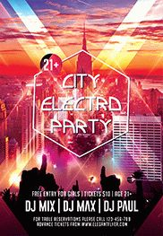Smallpreview_City_Sound_Party-flyer-psd-template-facebook-cover