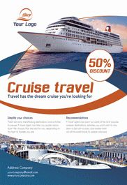 Cruise Travel – Flyer PSD Template