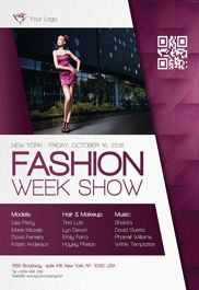 Fashion Week Free Flyer Psd Template Facebook Cover