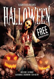 Night Halloween – Free Flyer PSD Template + Facebook Cover